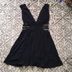 NWT Express black cutout dress M